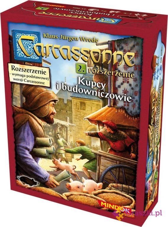 Carcassonne: Kupcy i Budowniczowie cz.2 (druga edycja polska)